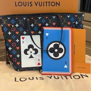 Louis Vuitton Game on Neverfull MM